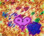 SaccadicAttractorPatterns-PointillismFloralBanketPencil-1-vp5WaterColorAdj-RGES