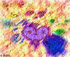 SaccadicAttractorPatterns-PointillismFloralBanketPencil-1-vp5AirBrushOnStonePlasterAdj-RGES