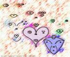 SaccadicAttractorPatterns-Pointillism-FloralBanket-Pencil-XGA-RGES